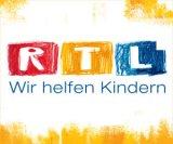 """Logo: RTL Spendenmarathon - """"Wir helfen Kindern"""""""