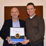 Bild: Preisverhandler Lothar Lay erhält 5 Sterne Trainerpreis