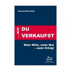 Buch von Vertriebstrainer Sascha Bartnitzki